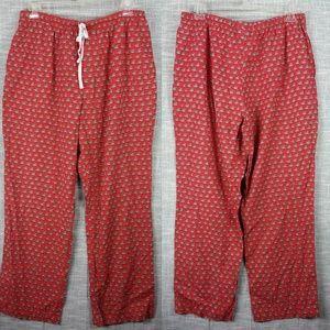 Vineyard Vines Christmas Pajama Lounge Pants XL